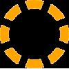 orange dash circle - Items -