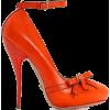 orange heels - Classic shoes & Pumps -