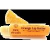 orange organic lip balm - Cosmetica -