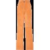 orange pants - Capri & Cropped -