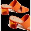 orange sandals1 - Sandalias -