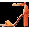 orange sandals - Sandalias -