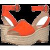 orange sandals - サンダル -