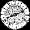 ornate clock illustration - Illustrations -