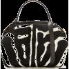 oscar de la renta PRINTED CALF HAIR BABY - Hand bag -