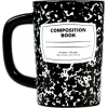 out of print composition book mug - Items -