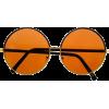 oversized roud sunglasses - Sunčane naočale -