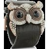 Owl Bracelet Leather - Bracelets -