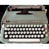 pale green typewriter - Artikel -