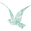 paper bird - Przedmioty -