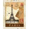 paris poster - Edificios -