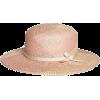 pastel straw hat - ハット -