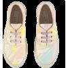 pastel tie dye sneakers - Sneakers -