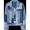 patchwork denim jacket - Jakne in plašči -