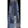 patchwork pants - Dżinsy -