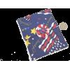 patriotic, coin purse, clutch, USA, flag - Torby z klamrą - $4.99  ~ 4.29€