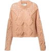 peach sweater - Pulôver -
