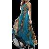 peacock dress - Obleke -