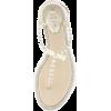 pearl embellished sandals - Sandale -