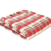 penderynfurniture red check welshblanket - Furniture -