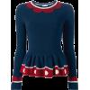 peplum sweater1 - Pullover -