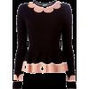 peplum sweater - Pullovers -