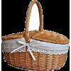picnic wicker basket - Items -