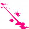 pink blob - Ilustracje -