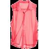 Pink Blouse - Long sleeves t-shirts -