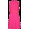 Pink Textured - Dresses -