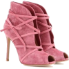 pink ankle boots - Stiefel -