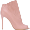 pink ankle boots - Boots -