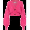 pink cardigan - Cardigan -