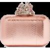 pink clutch - Clutch bags -