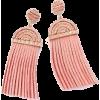pink earrings - Earrings -