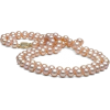 pink pearl necklace - Necklaces -