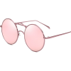 pink round sunglasses - Sunčane naočale -