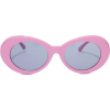 #pink #round #tinted - Sunglasses -