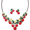 pinup/50's necklace earrinhg set - Other jewelry -