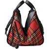 plaid bag - Messenger bags -