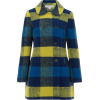 plaid coat - Jacket - coats -