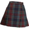 plaid shirt - Skirts -