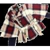 plaid short coat - Jacket - coats -