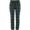 plaid trousers - Capri & Cropped - $25.99