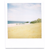 polaroid photo beach - フレーム -