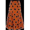polka dots skirt - スカート -