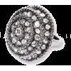 Diamonte Statement Ring - Rings -
