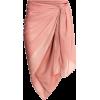 powder pink sarong - スカート -