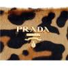 prada leopard clutch - Borse con fibbia -