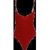 print large halter straps bodysuit - Grembiule - $19.99  ~ 17.17€